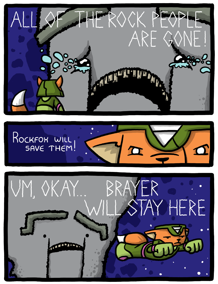 Rockfox Will Save Them!