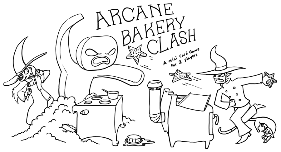 Arcane Bakery Duel (Monthly Print-and-Play: March 2017)