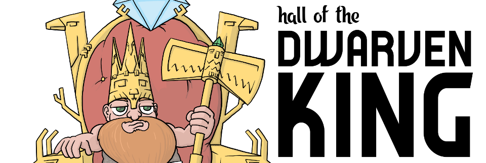 Hall of the Dwarven King (Monthly Print-and-Play June 2017)